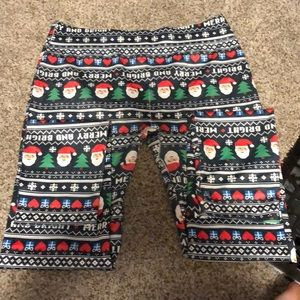 Christmas leggings women L